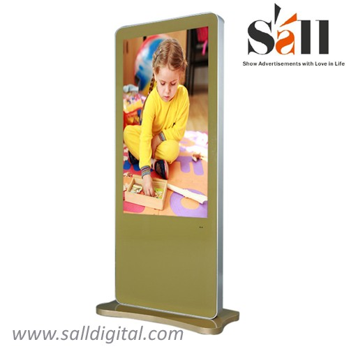Sall 42 inch floor stand airport lcd android digital signage player SL-038X