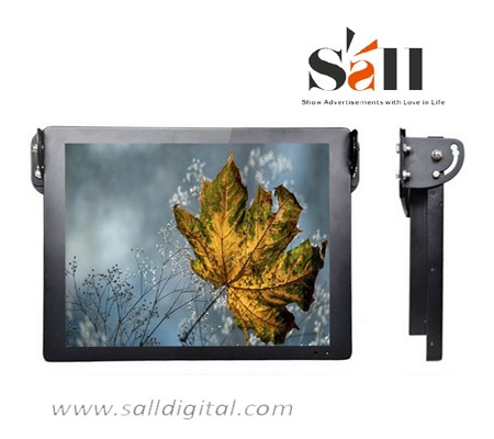 Hot selling DC9V-36V 17 Inch 19 Inch lcd bus TV screen for advertising SL-032X