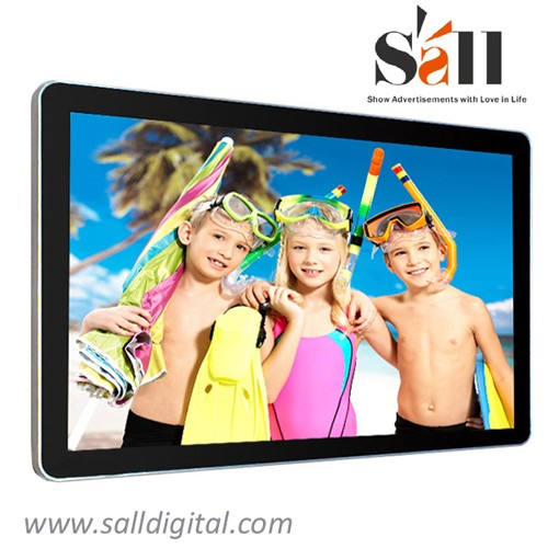 32 Inch wall mounted wifi 3g network fashion sex video advertising media player SL-008X