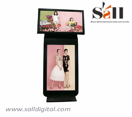 55inch dual screen interactive digital signage SL-027X
