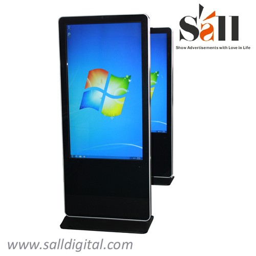 42 Inch 55 Inch 65 Inch floor stand digital signage with control system management software SL-039X