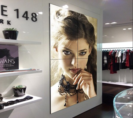 Professional 46 Inch indoor application interactive video wall company SL-VW460