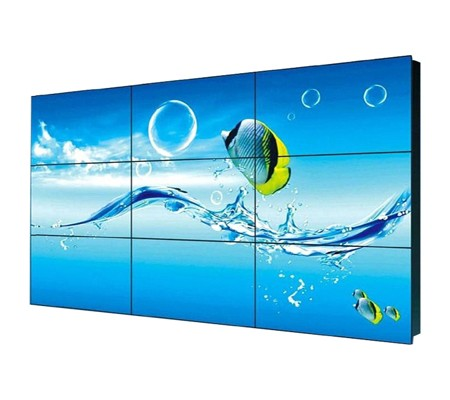46 Inch cost effective lcd video wall Ultra Narrow Bezel with  From 3.9 mm To 5.5 mm (SL-VW460)