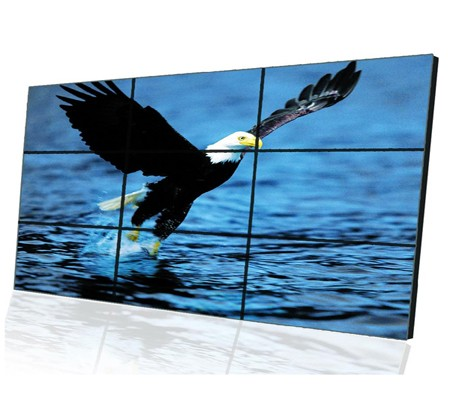 46 Inch high brightness 3.9mm 4X4 video wall with 4x4 hdmi video wall controller SL-VW460