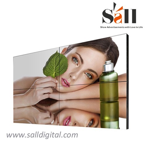 55 Inch indoor video wall wall mounted indoor advertising lcd video wall (SL-VW550)